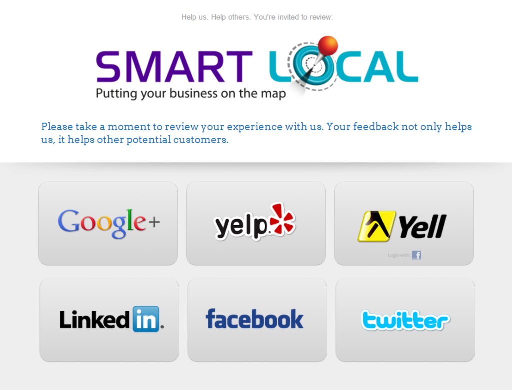 Get more reviews with Smart Reviews