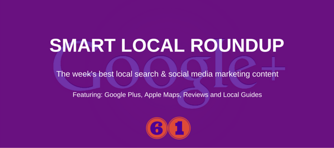 local search and social media marketong roundup for 20th november 2015