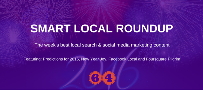 local search marketing news for Friday 8th January 2016