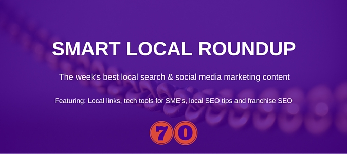Local search and social media marketing news for 19th February 2016